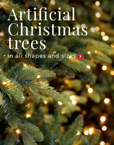 artificial christmastrees