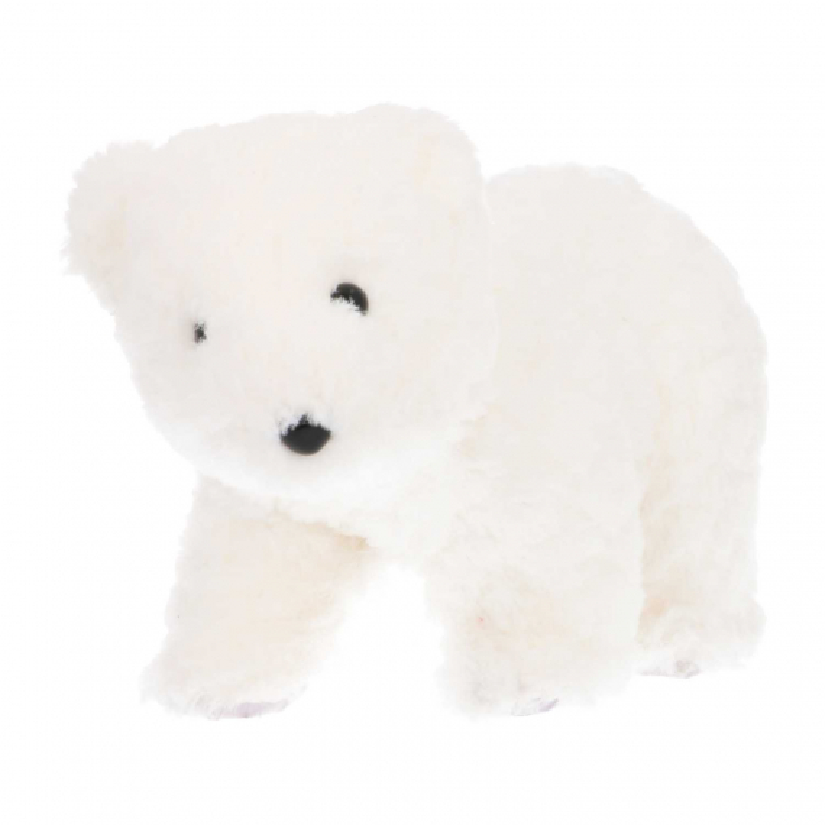 Faux fur polar bear 32 cm
