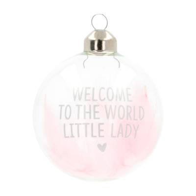 Cute Glass Christmas Bauble