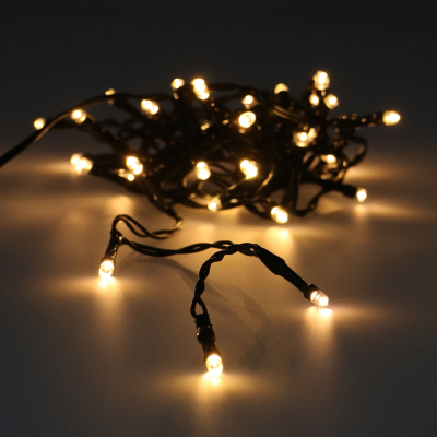 40 LED extra warm white outdoor fairy lights