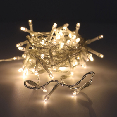 80 LED warm white outdoor fairy lights