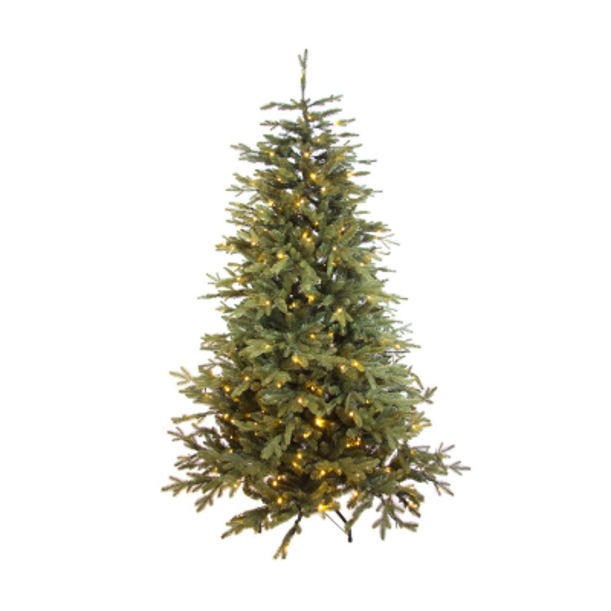 Pre-lit Christmas tree Djill pine 185cm 250 LEDs