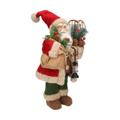 Luxury Santa standing 30cm signal red